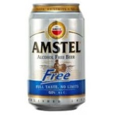 Amstel Alcohol Free Can 330ml (24 Pack)