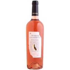 770 MILES ZINFANDEL Rose Wine 750ml (California, USA)