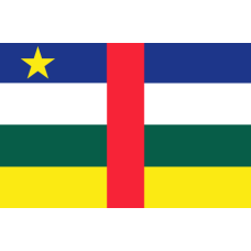 Flag of Central African Republic - 200x120cm