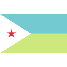 Flag of Djibouti - 200x120cm