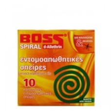 Boss Mosquito Repellent Coil 10 Count