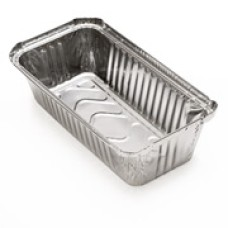 Frogo Disposal Aluminium Containers for Food Medium Size 100 Count