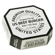 Angus Beef Burger Frozen 125gr 2 Pieces