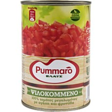 Canned diced tomatoes 400gr