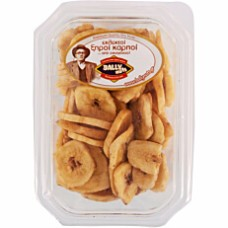 Dried banana chips 120gr